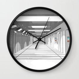 Space ship Wall Clock