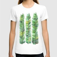 gold T-shirts featuring Seaweed by Cat Coquillette