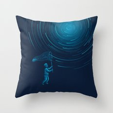 Catch a Star trail Throw Pillow