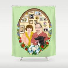 For Mr. and Mrs Schmitt Shower Curtain