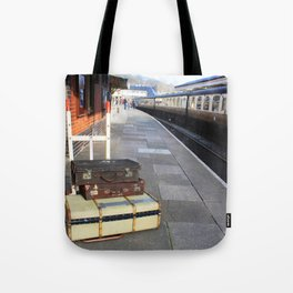 Cases At The Old Railway Station Tote Bag