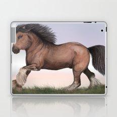Gypsy Vanner Horse Laptop & iPad Skin