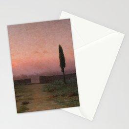 Landscape by Modest Urgell Stationery Cards