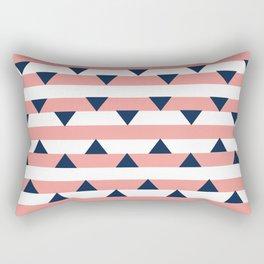 Righe e Triangoli Rectangular Pillow