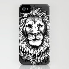 Lion (on dark) iPhone (4, 4s) Slim Case