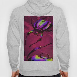 Psychedelic Scarab Hoody