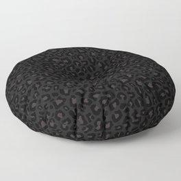 Leopard Print 2.0 - Black Panther Floor Pillow
