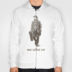 The Man Guitar Cat Hoody