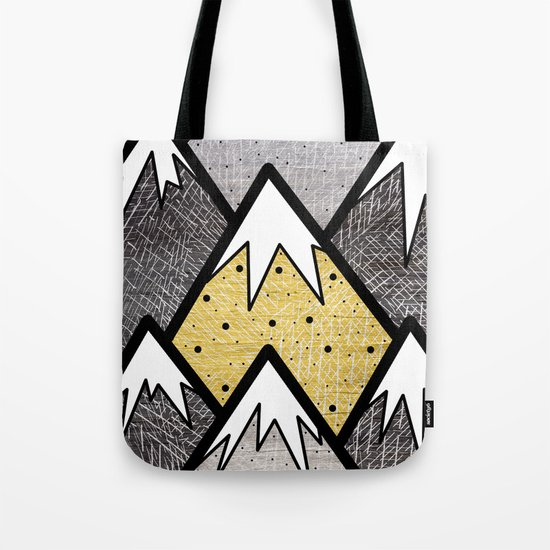 The Gold and Silver Hills Tote Bag