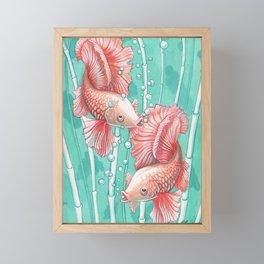 Ballerina Fish Framed Mini Art Print
