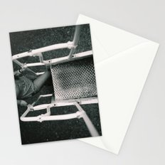 Girl Going Up Stairs Stationery Cards
