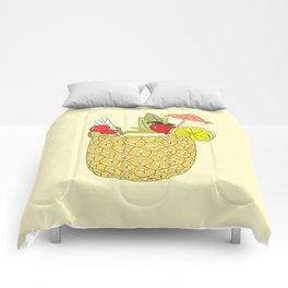 FRUITY DRINK Comforters