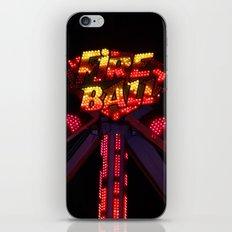 Fire Ball iPhone & iPod Skin