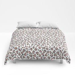 Pink Leopard Comforters