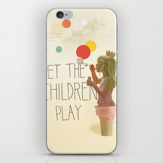 Let the children play iPhone & iPod Skin