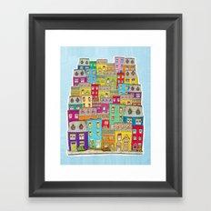 Way Downtown Framed Art Print