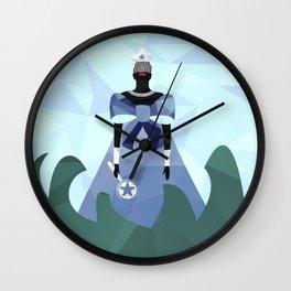 Iemanjá Geométrica Wall Clock