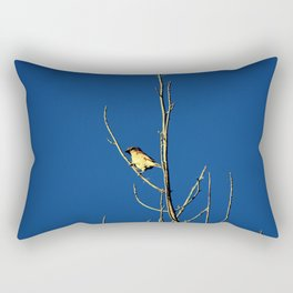 House Sparrow Rectangular Pillow