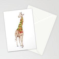 Giraffe in a Scarf Stationery Cards