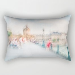 Pont des Arts Rectangular Pillow