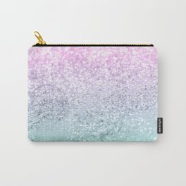 Mermaid Girls Glitter #1 (2019 Pastel Version) #shiny #decor #art #society6 Carry-All Pouch