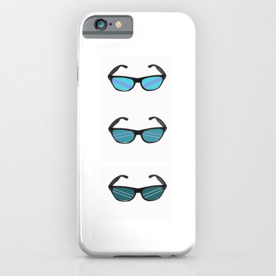 colorful raybans iPhone & iPod Case