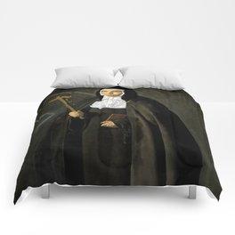 """Diego Velázquez """"Madre Jerónima de la Fuente"""" Comforters"""