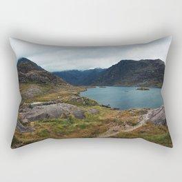 The Black Cullins Rectangular Pillow