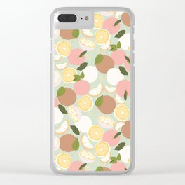 Super Cutie Pastel and Fruity! Clear iPhone Case