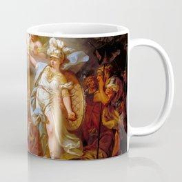 "Jacques-Louis David ""Combat between Minerva and Mars"" Coffee Mug"