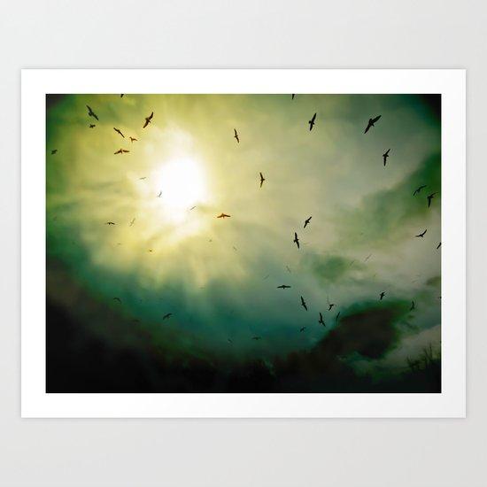 Wings Eternal 2.0 Art Print