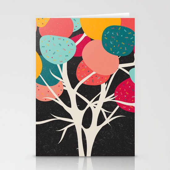 Lovely Tree Stationery Cards