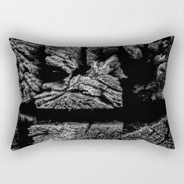 Railroad Ties Rectangular Pillow
