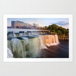 From Winter to Summer: The Waterfalls of Ottawa Art Print