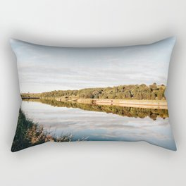 Riverside at Dusk Rectangular Pillow