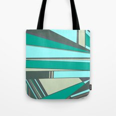 Triangles and Stripes Tote Bag