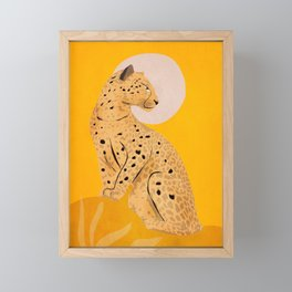 Leopard Framed Mini Art Print