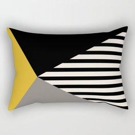 LH322 - total black Rectangular Pillow