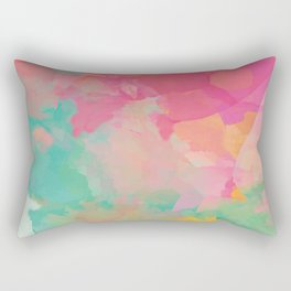 colored explosion Rectangular Pillow