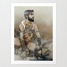 The Wild 02 Art Print