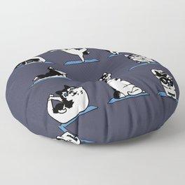 Husky Yoga Floor Pillow