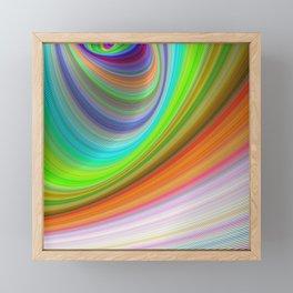 Color illusion Framed Mini Art Print