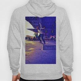 Colorful Skater Hoody