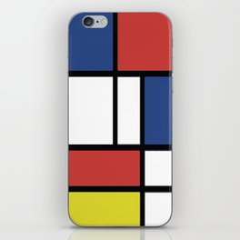 Mondrian 2 iPhone Skin