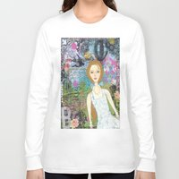 belle Long Sleeve T-shirts featuring Belle by inara77