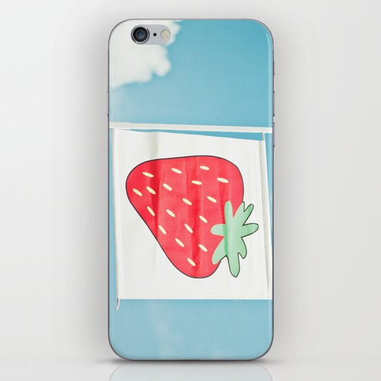 Strawberry Sky iPhone & iPod Skin
