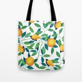 Lemon pattern II Tote Bag