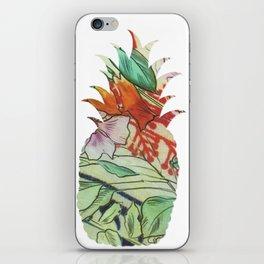 Pineapple fabric iPhone Skin