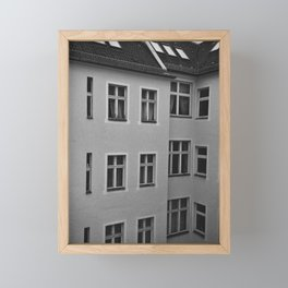 Apartment building in Berlin Framed Mini Art Print