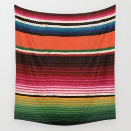 BEAUTIFUL MEXICAN SERAPE Wall Tapestry